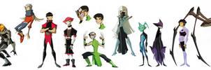 Teen Titans: Villain Edition by dou-hong