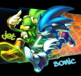 +Zero Gravity+ Sonic and Jet