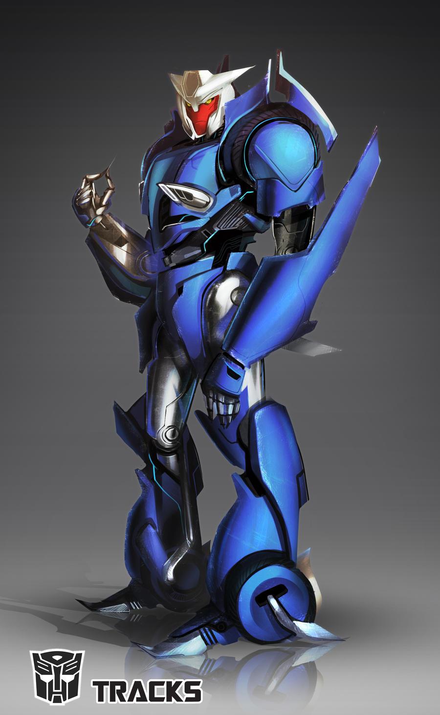 [Pro Art et Fan Art] Artistes à découvrir: Séries Animé Transformers, Films Transformers et non TF - Page 5 Transformers_prime__tracks_by_farfie_kins-d4dgo0f