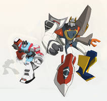 TFA: Aerialbots Superion by dou-hong
