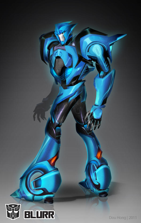 Transformers Prime: Blurr by dou-hong