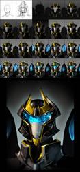 Transformers Prime Tutorial: TFA Prowl by dou-hong