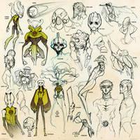 DC Sketch Blitz 5 +Green Lantern Special+ by dou-hong