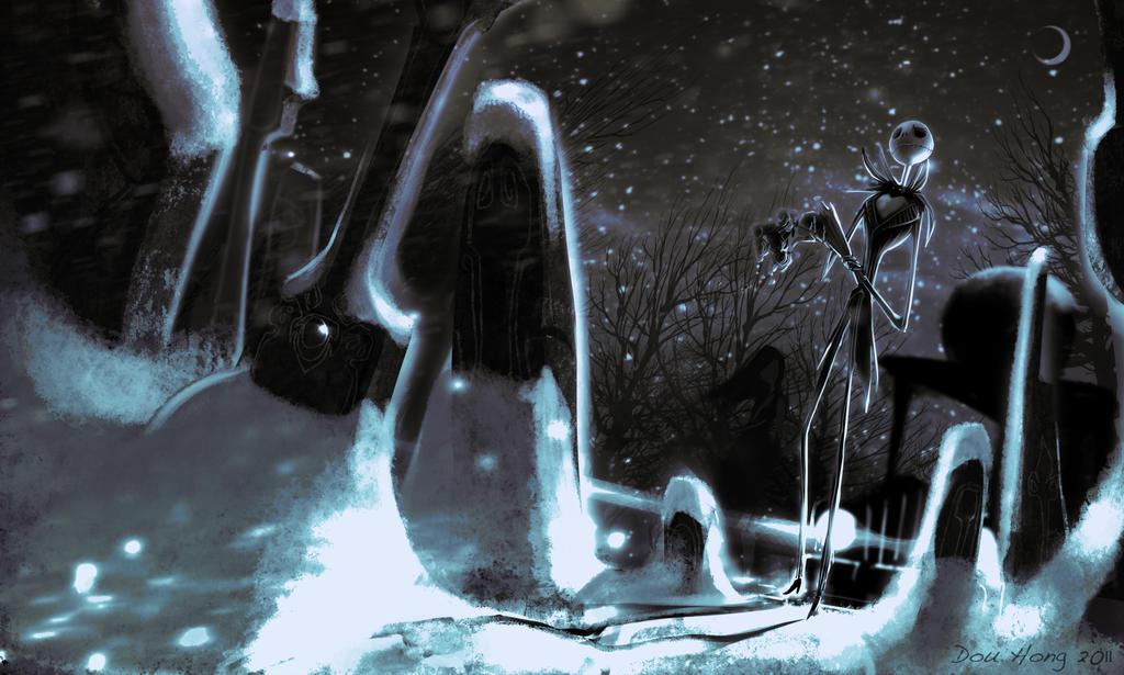 Jack Skellington +Early Winter+ by dou-hong