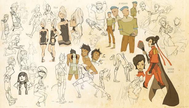 Legend of Korra: Character Concepts PT. ONE
