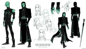 Young Justice Concepts: Reach Negotiator