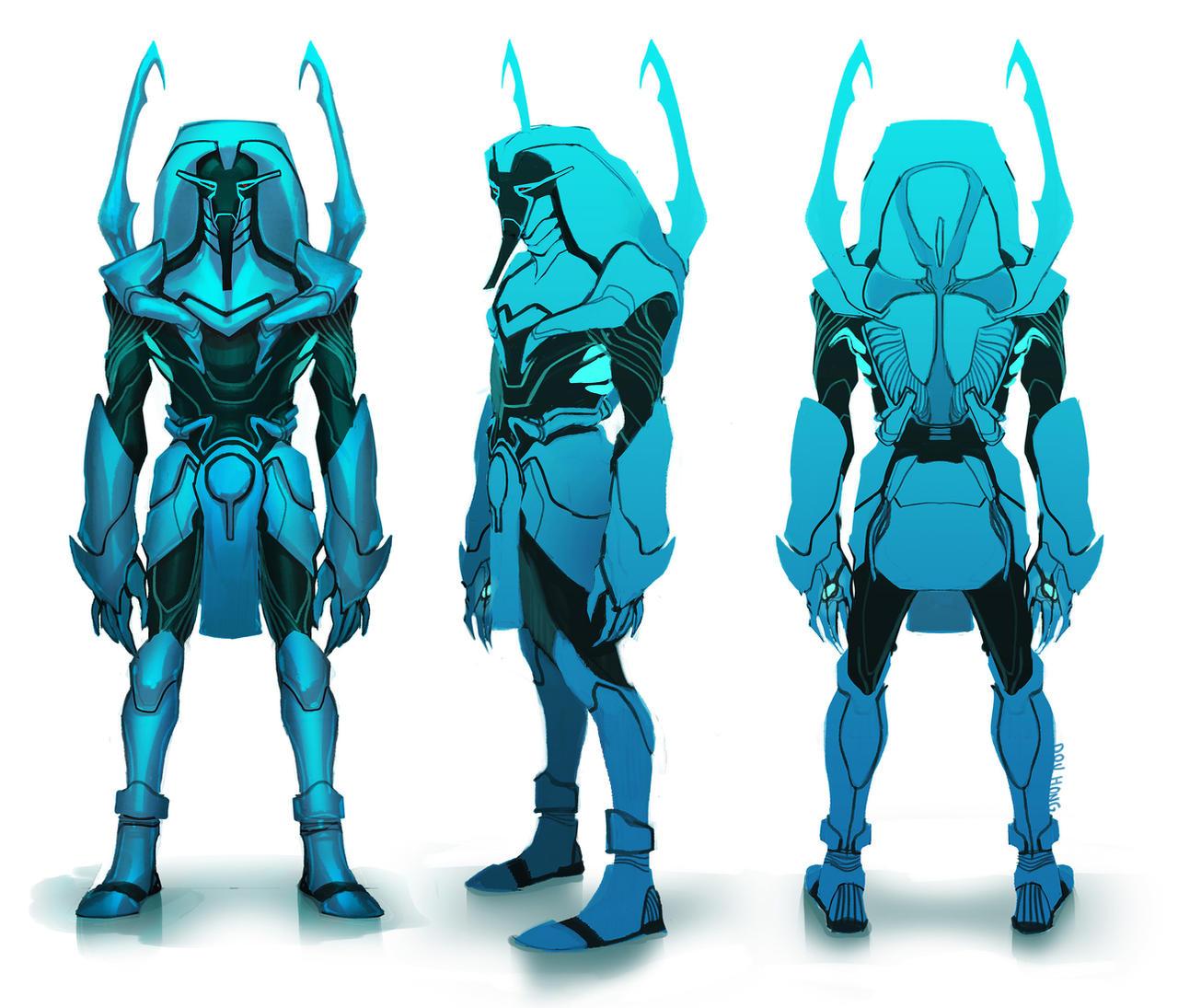 Blue Beetle: Khaji Da +STAGE TWO+ by dou-hong