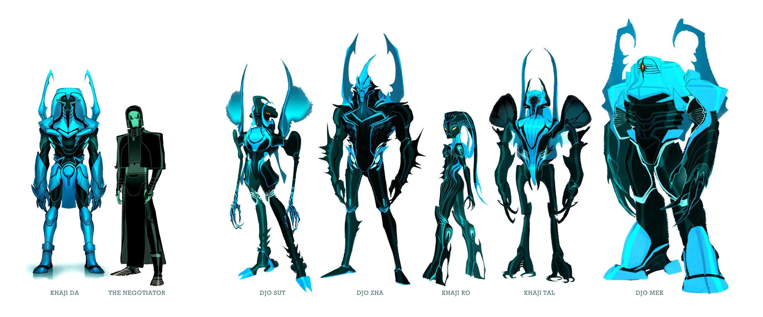 Blue Beetle: Reach Warriors by dou-hong
