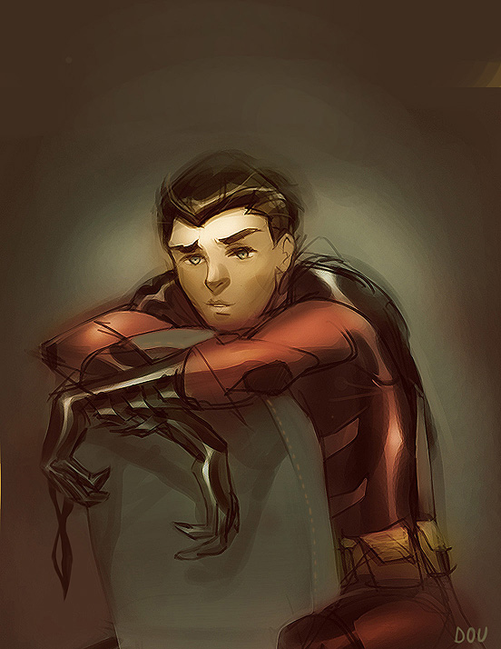 Young Justice: Tim Drake by dou-hong