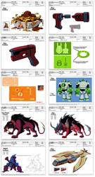 Ben 10: Omniverse Asset Sampler: Episodes 37-39 by dou-hong