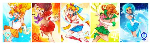 Sailor Scout Lineup