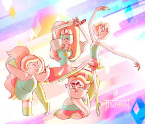 Steven Universe: Pearl and the Pearls! by dou-hong