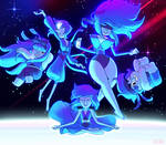 Steven Universe: Lapis and the Lazulis! by dou-hong