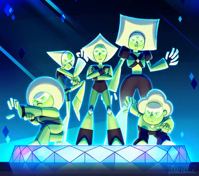Steven Universe: Peridot and the Peridots!