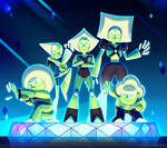 Steven Universe: Peridot and the Peridots!