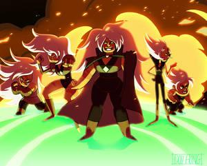 Steven Universe: Jasper and the Jaspers!