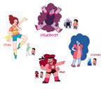 Steven Universe: Steven Fusions