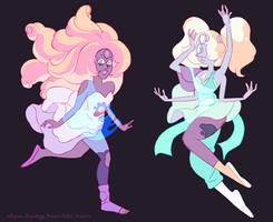 First Merge Rainbow Quartz + Opal