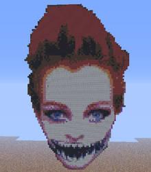 Becki in Minecraft 2.0 by RustehSporkMonstah