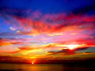 Binary Sunset by ZauberParacelsus