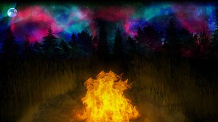 Stellar Campfire by ZauberParacelsus