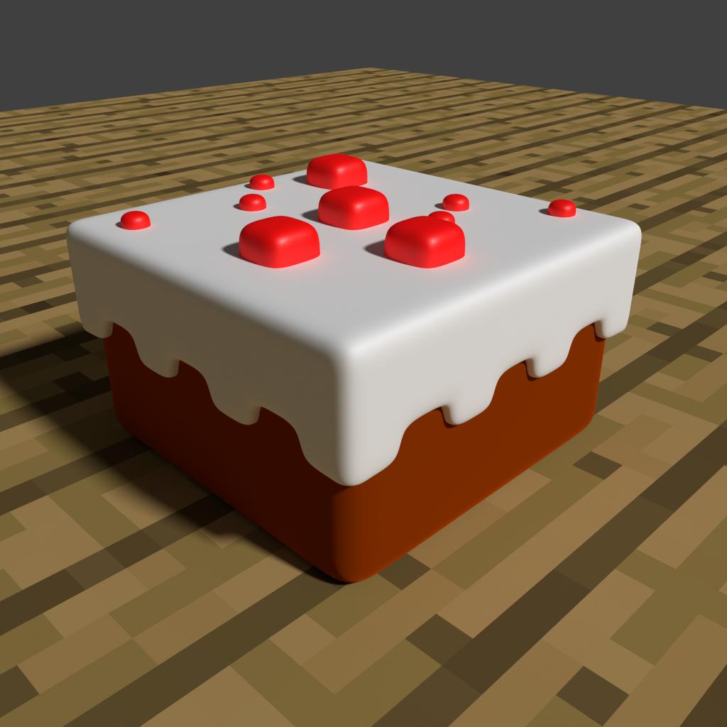 Minecraft Cake By Zauberparacelsus On Deviantart