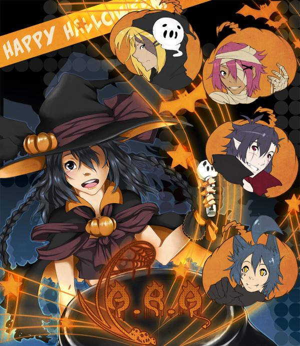 A.R.A Halloween by miunuu