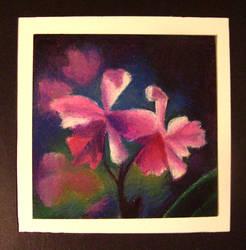Still Life with Oil Pastels by myshrinkingviolet