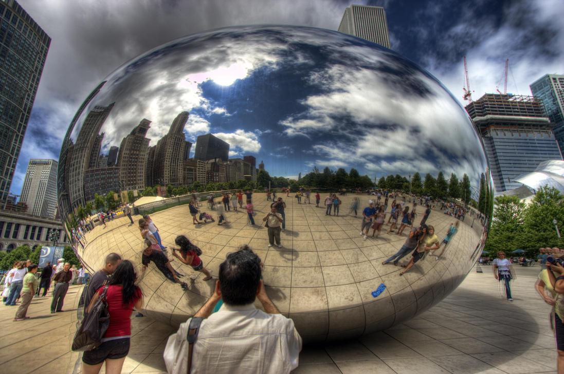 Chicago Bean 2 by lightzone