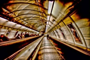 Subway Tunnel by lightzone