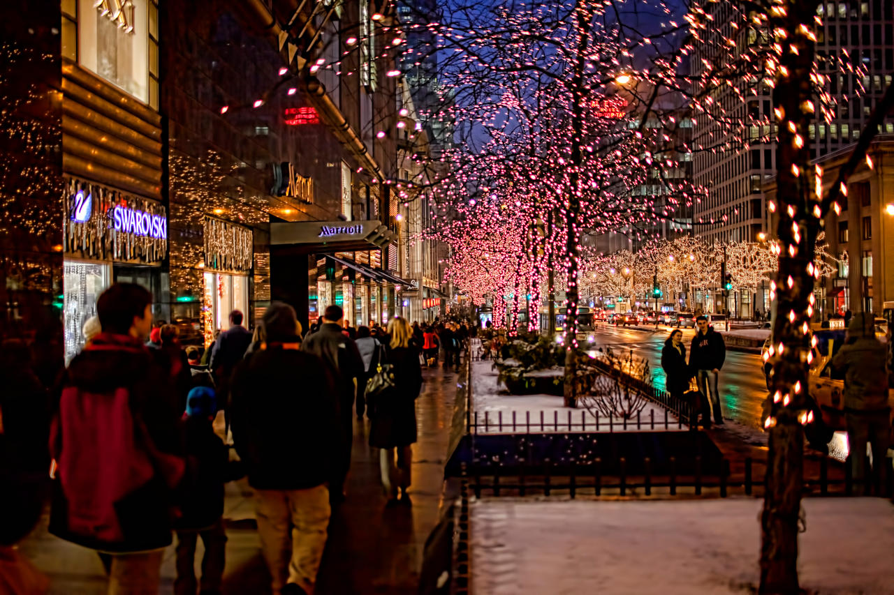 Chicago Christmas 2010 by lightzone on DeviantArt pmtgIbfm