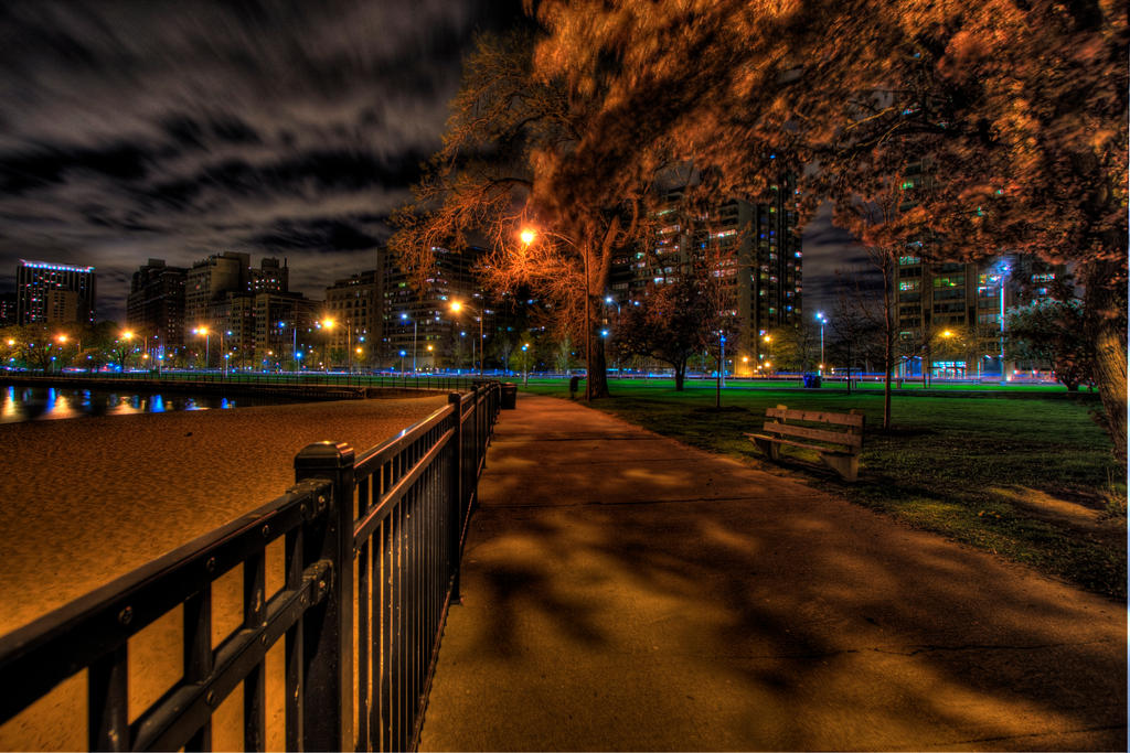 A stroll along the parkway by lightzone