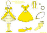 Canary Yellow Lolita Ensemble