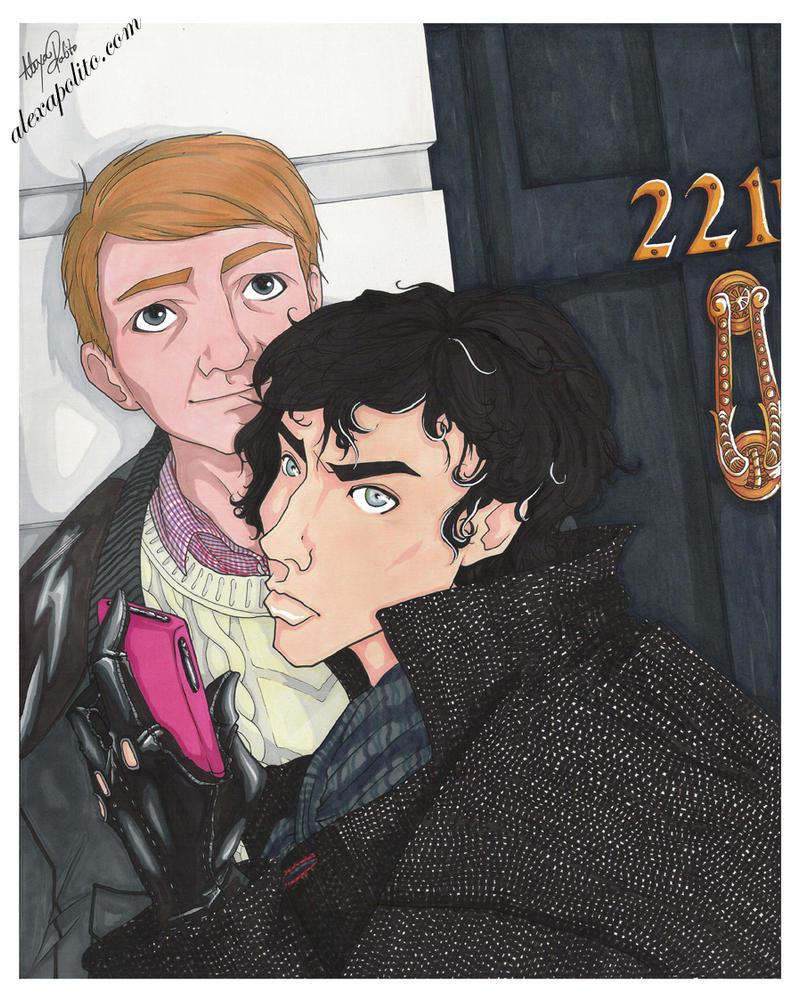221b by rakugakikiss