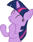 Twilight Sparkle Clapping (Vector)