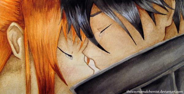 Asuna and Kirito - Sword Art Online by TheIcecreamAlchemist
