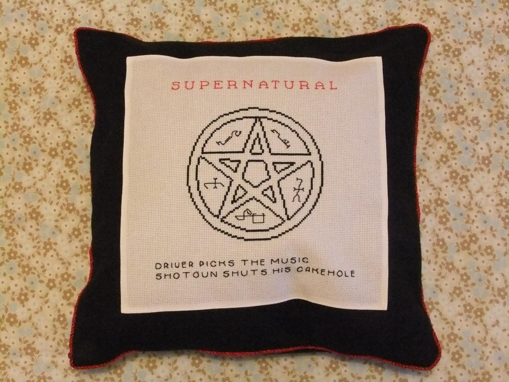Supernatural Pillow by AlaskanAsh
