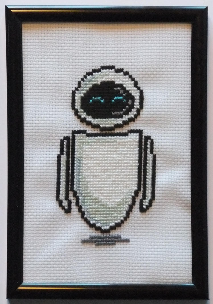 EVE Cross Stitch by AlaskanAsh