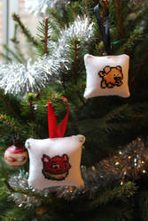 Neopets Christmas Ornaments
