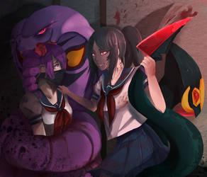 The Snake by SKiyoshi