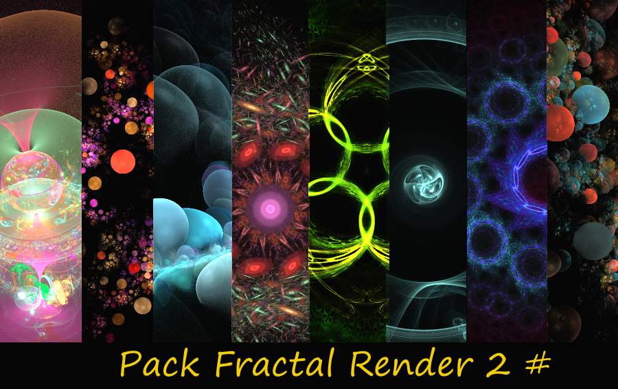 2 Pack Fractal Render by sakaDesign
