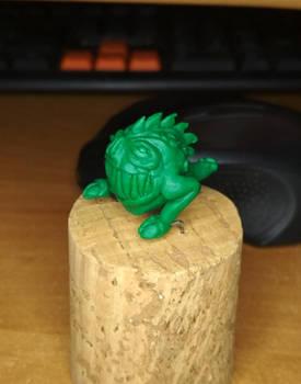 atempt at sculpting - wfb squig