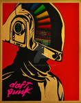 Daft Punk Canvas Print!