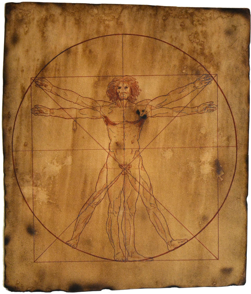 Vitruvian Man by DesuDan on deviantART