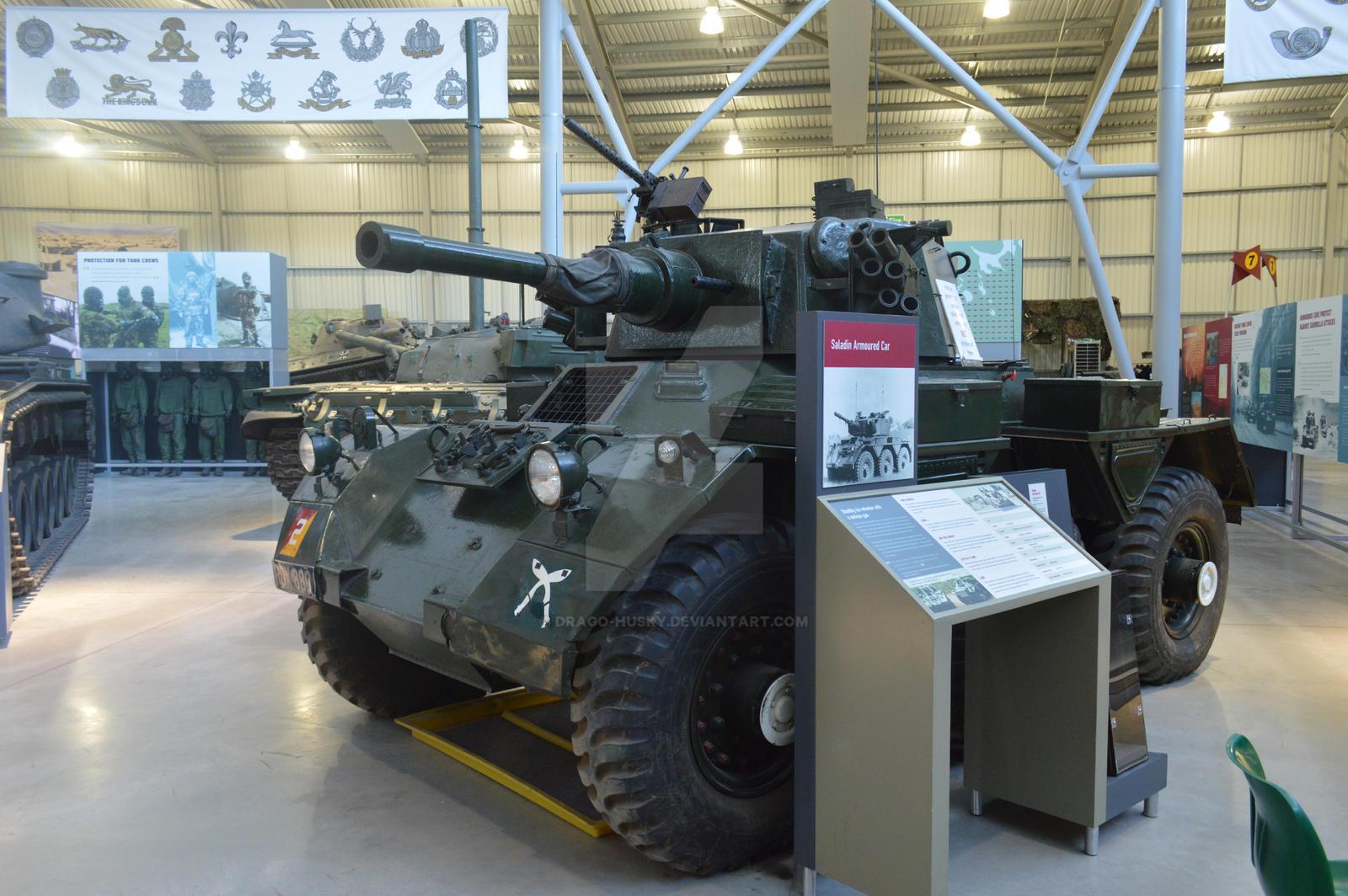 The Tank Museum Saladin Armoured Car by Drago-Husky on