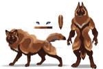 Ferrugia 'Rusty' Dire Wolf Werewolf
