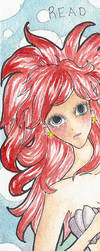 Ariel Bookmark by Poneezi