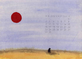 calendar - july by szucsi