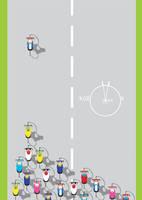 cycling magazine cover by szucsi