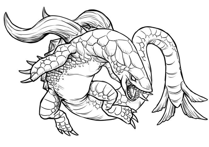 deep sea dragonhyuthefish on deviantart